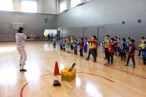 State 2 of exercise classroom for kids