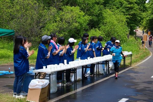 Water supply looks volunteer