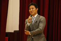 Kensuke Tanaka to lecturer of career education class